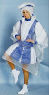 6000 Transparenter Regenponcho zum Schutz Ihres Kostüms vor Nässe, 5