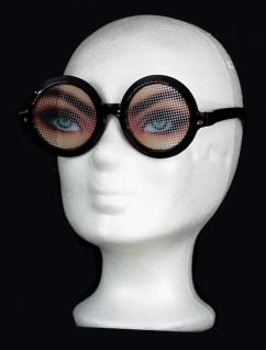 2989 große magische Brille mit bedruckten Gläsern aus Plastik...