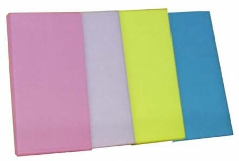 7563 Vließ Tischdecke, 120x160cm groß, einzeln in hellblau und ros