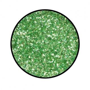 es902080 Polyester Streuglitzer Smaragdgrün...