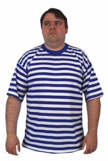 58662 Ringel T Shirt, 100 % Baumwolle, mit kurzem Arm, breit geringe