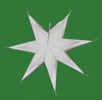 821904 Weihnachtsstern aus Pappe, für Beleuchtung bis 25 Watt geeign - Vorschau