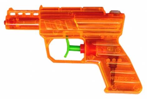 6783 Orange Wasserpistole, 12cm lang...