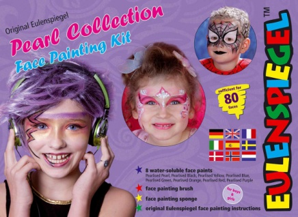 es208113 Pearl Collection Face Painting Kit,