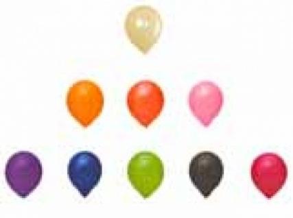 70481 Deko Luftballons, gedeckte Farben, 100 Stück...