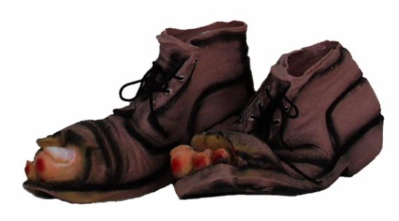 3230 Gummi Vagabunden Füße (Schuhe)...
