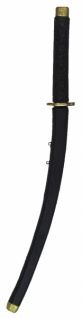 64771 Ninja Schwert aus Plastik, 78 cm lang, schwarz...