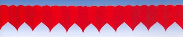72142 Herz Girlande, 4m lang, rot, flammenresistent...