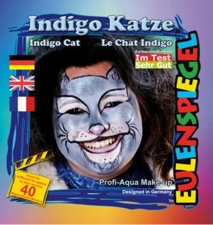 Schmink Set es204542 Motiv Set Indigo Katze - Vorschau