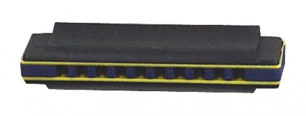 2606 Dreifarbige Mundharmonika mit 10 Tönen aus Plastik...
