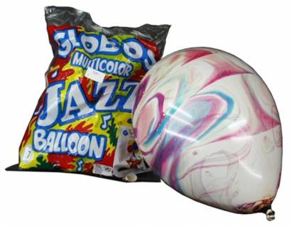7051 100 Multicolor Ballons, 60 65 cm Umfang, 20cm Durchmesser...