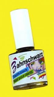 2848 Zahn Schwarz in Flasche mit 10ccm Inhalt...