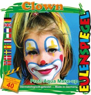 Schmink Set es204146 Motiv Set Clown,