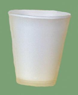 751611 50 Stück Styroporbecher, isolierend, für 0, 2l heiße Getränke, weiß