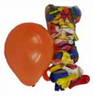 7044 100 einfarbige Abschieß Ballons, bunt gemischt, 40 45 cm umfang, 14 cm Durchmesser...