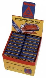 68140 Plastik Streifen Amorces, 10 er, 10 Schuß = 1 Streifen, 10 Str
