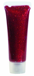 es907054 Glitzer Gel Rot Juwel, 18ml Tube...