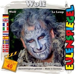Schmink Set es204412 Motiv Set Wolf, - Vorschau