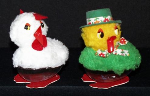 98771 Verschiedene Entenfiguren aus Plastik zum befüllen z.B. mit Sc