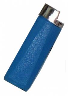 8551 Spritz Feuerzeug, spritzt durch zusammendrücken, 95x40mm groß - Vorschau