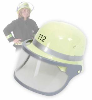 3178 Feuerwehrhelm mit beweglichem Visier, größenverstellbar.