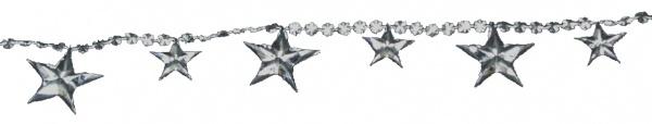 7622 Sternen Perlenkette in silber, 2, 70 m lang...