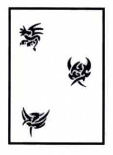 es456125 Tattooschablone Mystik - Vorschau 1