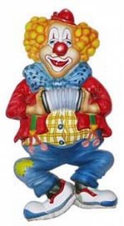 32500 Musik Clown, ca. 51 x 27 cm groß, Plastik...