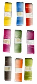 7606 1 Stück einfarbiges Florband mit Farbverlauf, 25mm breit - Vorschau