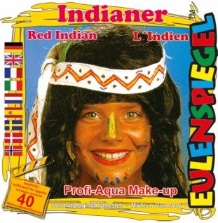 Schmink Set es204214 Motiv Set Indianer,
