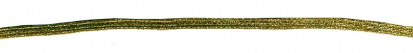 1451 Lurex Gummi in gold und silberfarben, 5mm breit, 10m lang