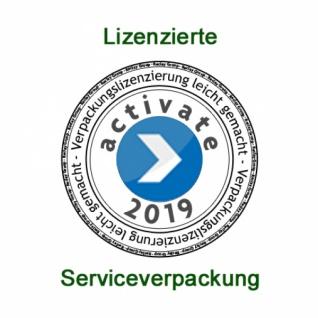 75151 100 Stück Plastikbecher mit Bayernrauten verziert, für 0, 2l Ge - Vorschau 2
