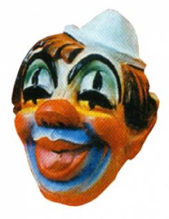 3075 Clown Maske...