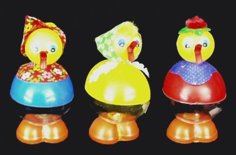 98773 Verschiedene Entenfiguren zum befüllen mit z.B. Schokoladen - Vorschau