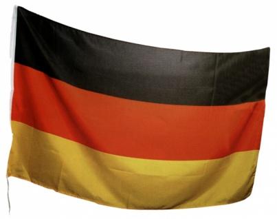 """7391 Stoff Fahne """" Deutschland"""", ca. 90x150cm groß, als Ban"""