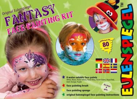 es208137 Fantasy Face Painting Kit,