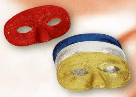 3008 Glitter Domino in gold, silber, rot und blau...