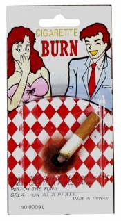 8542 Brandfleck mit Zigarette, verschönert jede Tischdecke!..