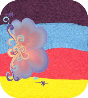es340134 Split Cake Rainbow Dream