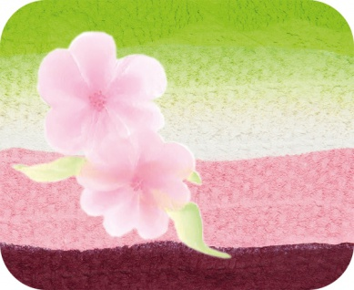 es340417 Split Cake Japanese Blossom
