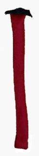 5961 Roter Teufelsschwanz zum annähen, 50cm lang... - Vorschau