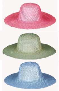 1851 Großer Damen Hut ohne Garnierung...