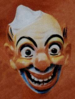 3074 Clown Maske...