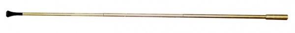 1148 Zigarettenspitze, glatt, 45cm lang, Eloxal, in gold und silber...