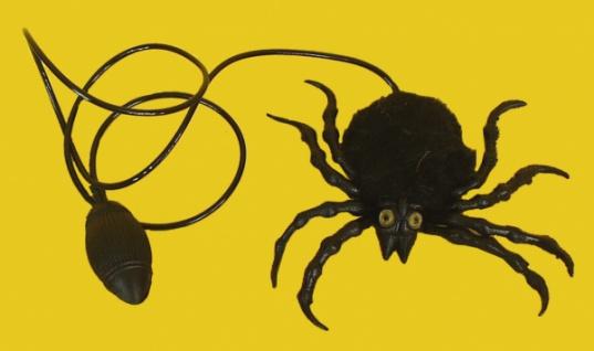 """8457 """" Hüpfende Spinne"""", drückt man auf den Blasebalg sprin - Vorschau"""