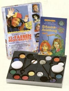es212011 12 Farben Profi Palette, das Rundum Sorglos Paket für alle Schminkfans! - Vorschau