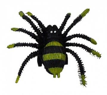 8583 Laufende Spinne aus Plastik, mit Aufziehrad und Rollen an der U - Vorschau