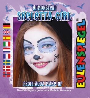 Schmink Set es204764 Motiv Set Skeletta Girl