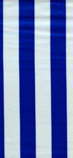 14707 Kett Satin, blau weiß gestreift, [3, 5cm breite Streifen], be
