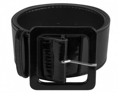 gürtel schwarz 115 x 5, 5 cm